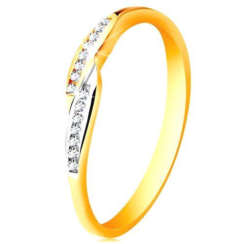 Prsteň v 14K zlate