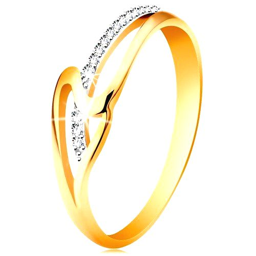 Prsteň zo 14K zlata