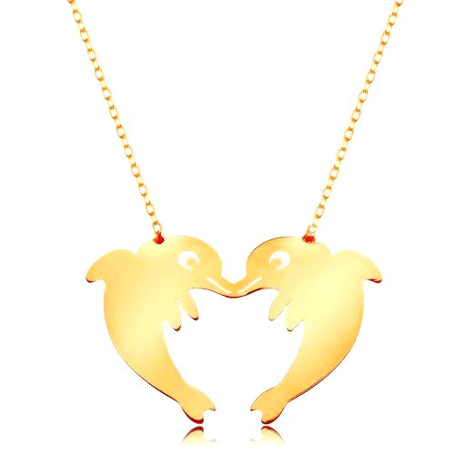 Zlatý 14K náhrdelník - jemná retiazka