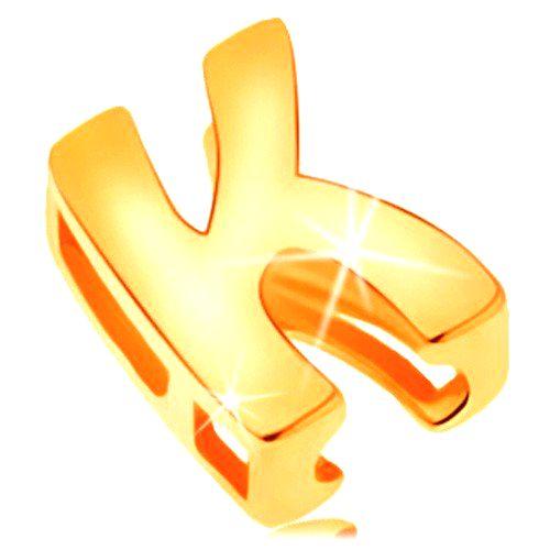 Zlatý prívesok 585 - lesklý a hladký povrch