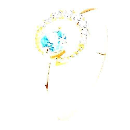 Zlatý prsteň 585 - kosák mesiaca zdobený čírymi zirkónikmi