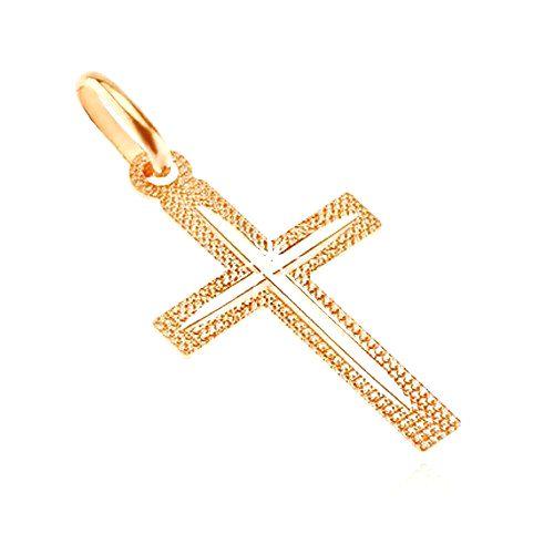 Prívesok zo 14K zlata - kríž