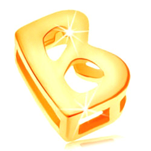 Prívesok v žltom 14K zlate