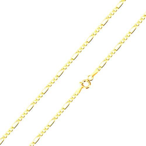 Retiazka zo zlata 585 - vzor Figaro